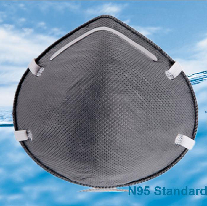 N95 Particulate Filter Respirator With Carbon 6135/6135L
